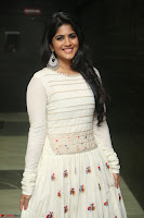 Megha Akash in beautiful White Anarkali Dress at Pre release function of Movie LIE ~ Celebrities Galleries 046.JPG