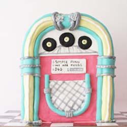 50s diner sweet 16 jukebox tutorial DIY