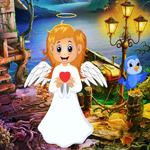 G4K Cute Angel Rescue Game