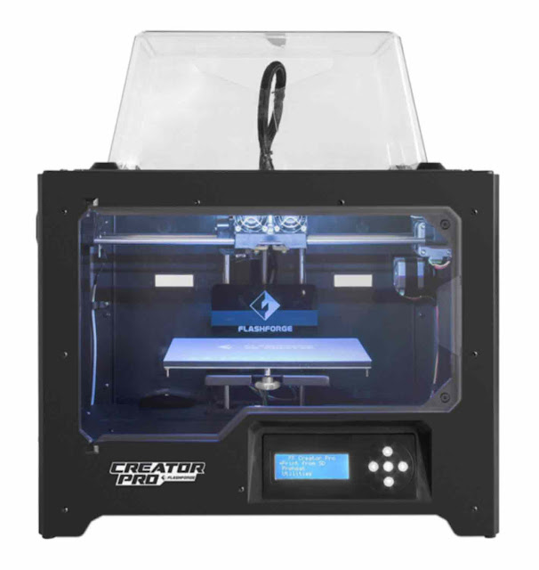 FlashForge 3D Printer Creator Pro - Best 3D Printer
