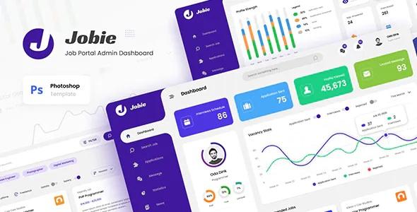 Best Admin Portal Dashboard UI Template