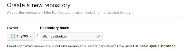 GitHub com a terminação github.io