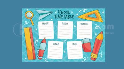Aplikasi Jadwal Pelajaran SMP MTs Tahun Pelajaran 2021/2022 Anti Bentrok