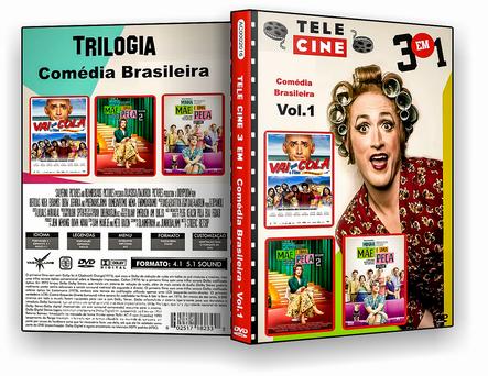 CAPA DVD – Trilogia Comédia Brasileira Vol.1 – ISO
