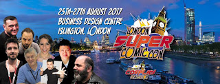 London Super Comic Con 2017 - Logo
