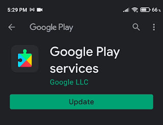 update Google Play Services App
