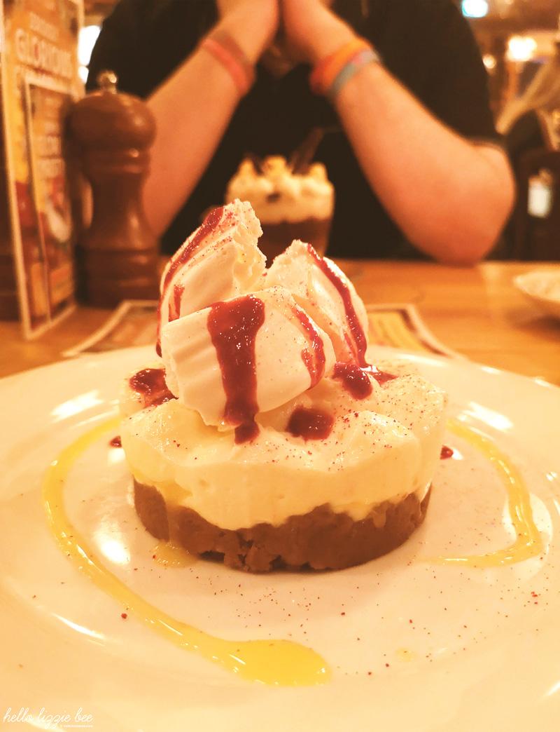 limoncella cheesecake