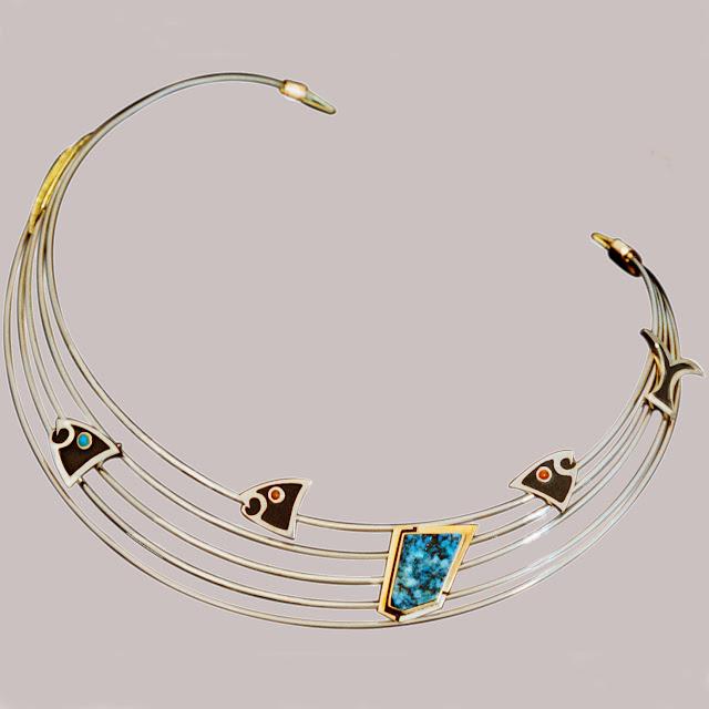 Bizindamowin/Gikendamaawin Doodem Ojibwe jewelry by Zhaawano Giizhik
