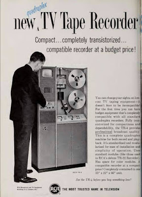 New Quadruplex TV Tape Recorder