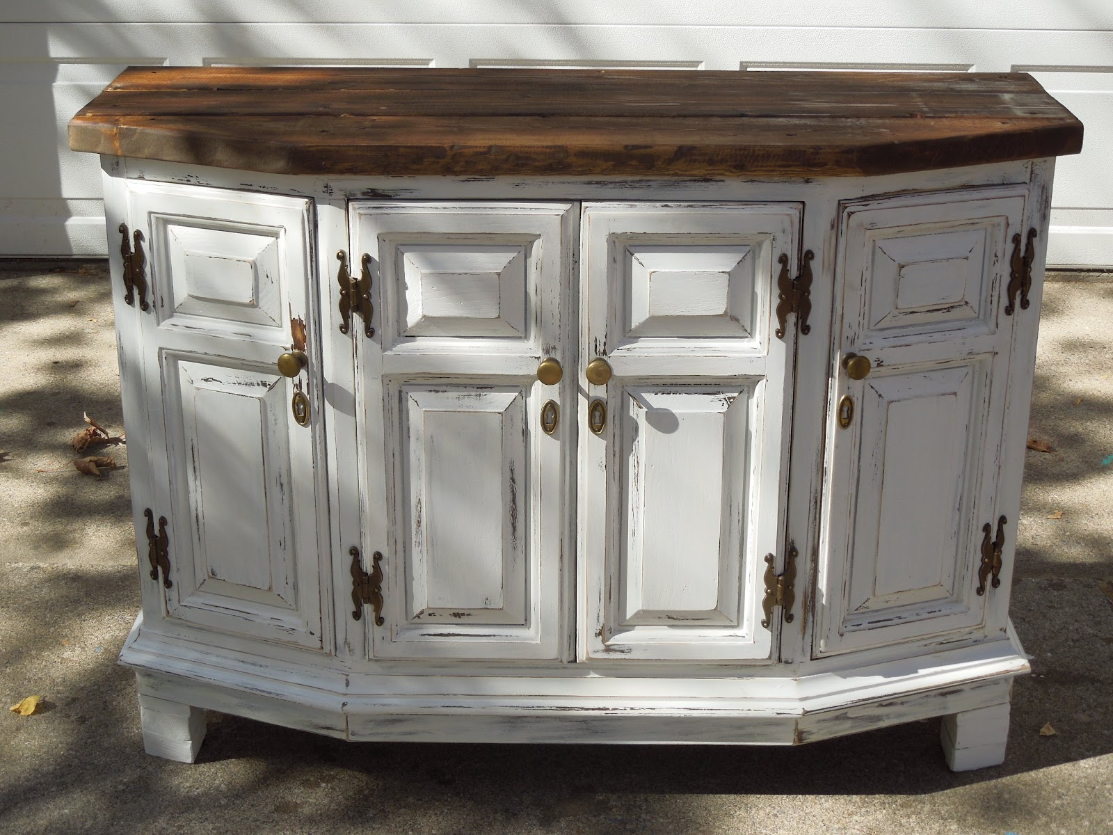 Tattered Lantern: White Rustic Buffet 195.00 $235.00 If I