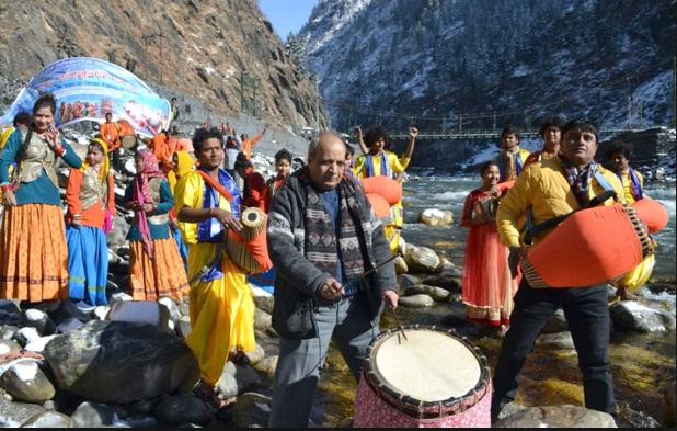 देवी गंगा को लेन का उत्सव