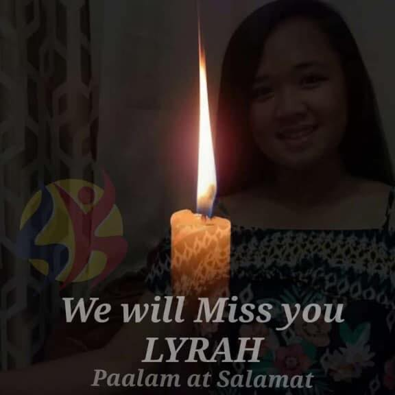 Lyrah Jade Bernardino passed away a day after passing the Criminology Licensure Exam