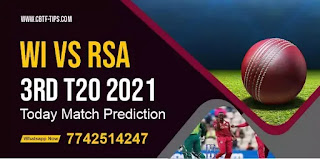 T20 West Indies vs South Africa 3rd Match Astrology South Africa tour of West Indies Cricket Win Tips WI vs SA today cricket match prediction tips match prediction today