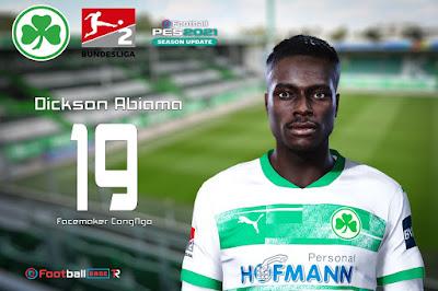 PES 2021 Faces Dickson Abiama by CongNgo