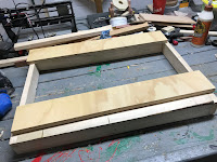 Ready to attach the plywood sides