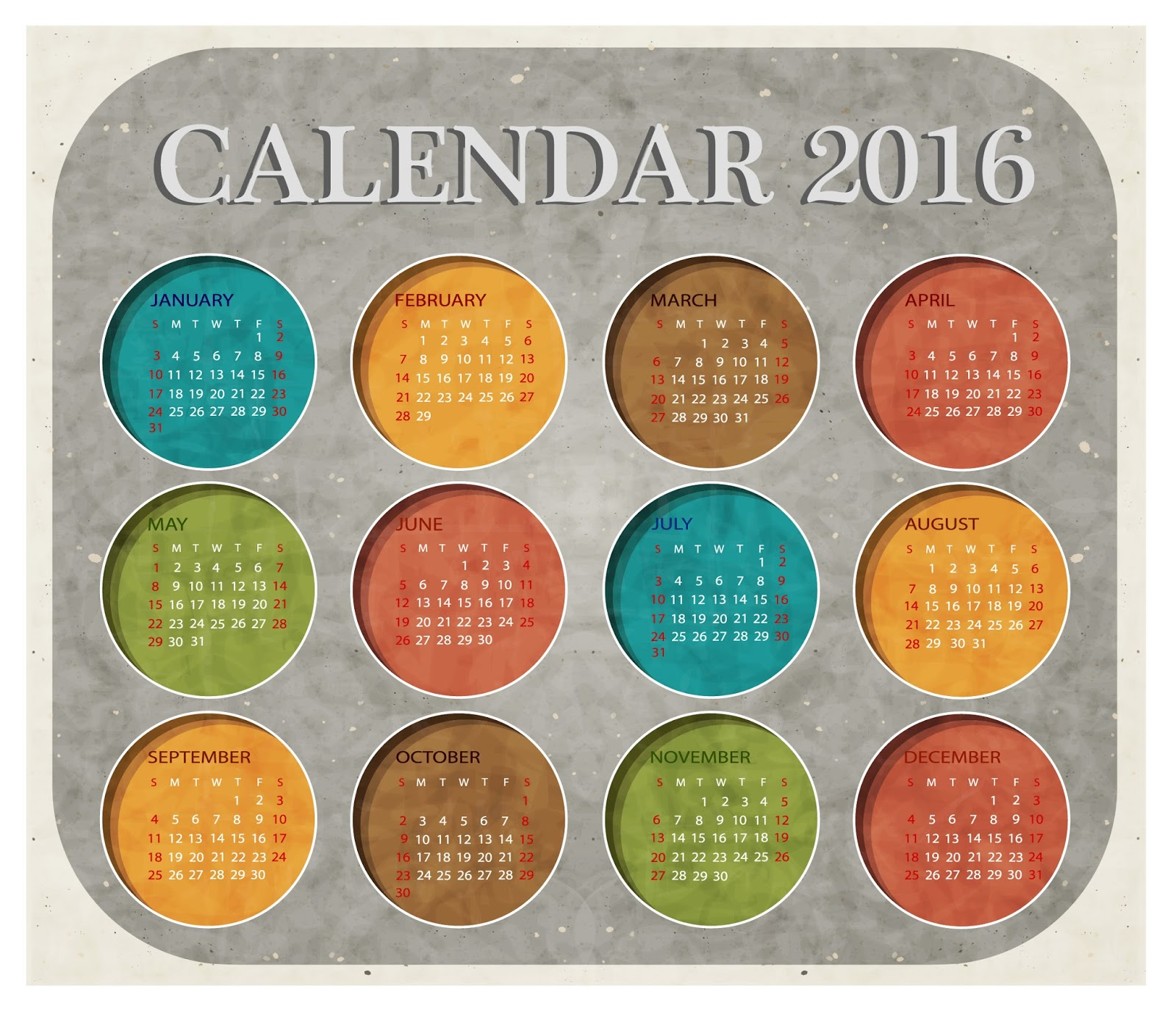calendar 2016 design a calendar for 2016 calendar 2016 printable the 2016 calendar year the calendar for 2016 the 2016 calendar year non monthly calendar 2016 4 month