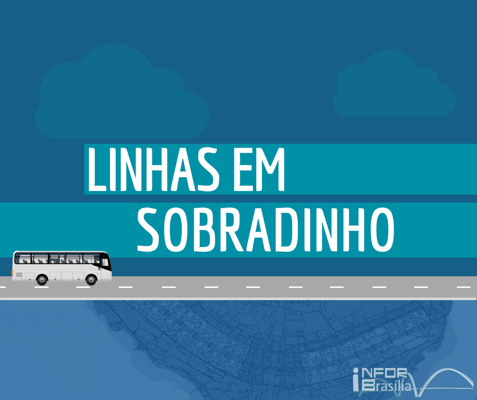 Horário de ônibus das linhas de Sobradinho