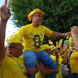 Em nota nas redes sociais o vice-prefeito Marcus Diogo Parabeniza o vereador Raimundo Macedo confira