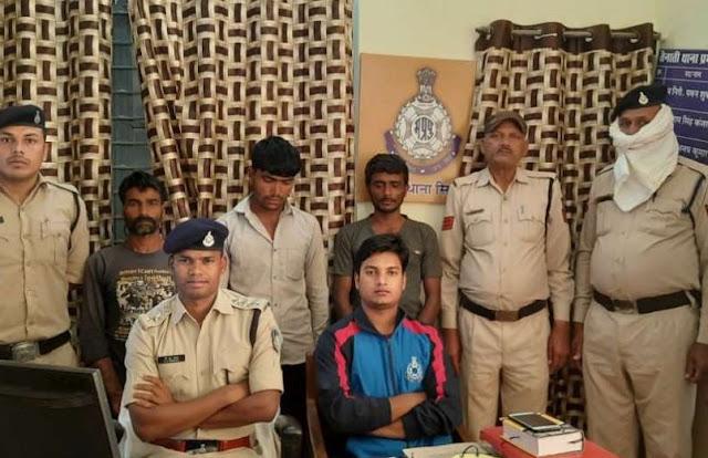 दोहरे हत्याकाण्ड के तीन आरोपी गिरफ्तार, रूपए के लालच में घटना को दिया अंजाम