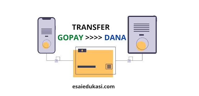 Transfer dari Gopay ke DANA