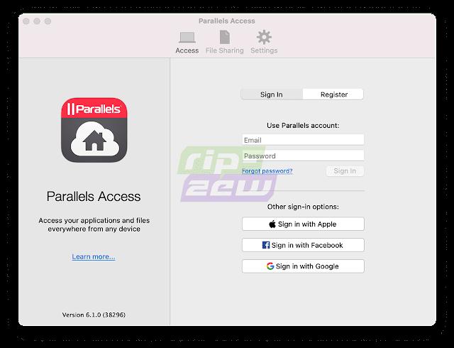 Software Remote Desktop Parallels Access
