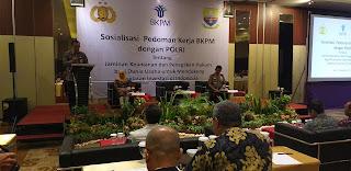 Sekda Provinsi Jambi Secara Resmi Membuka Sosialisasi Pedoman Kerja BKPM dengan Polri.
