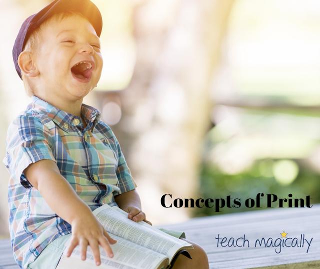 Concepts of print Teach magically