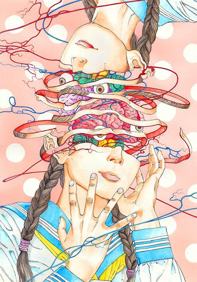 ARTIST: Shintaro Kago 駕籠 真太郎 (JP) www1.odn.ne.jp/~adc52520