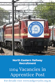 RRC, North Eastern Railway Recruitment