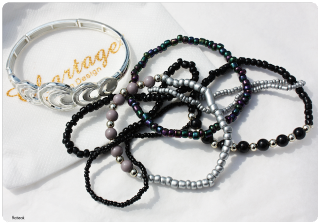 bracelets de la box Félicia box