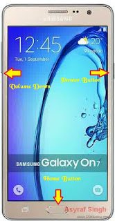 Download mode Samsung GALAXY ON7 (G600FY INDIA, BRAZIL)