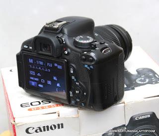 Jual Kamera Dslr  Canon 600D Bekas di Banyuwangi