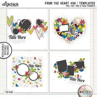 From The Heart 04 by Akizo Designs