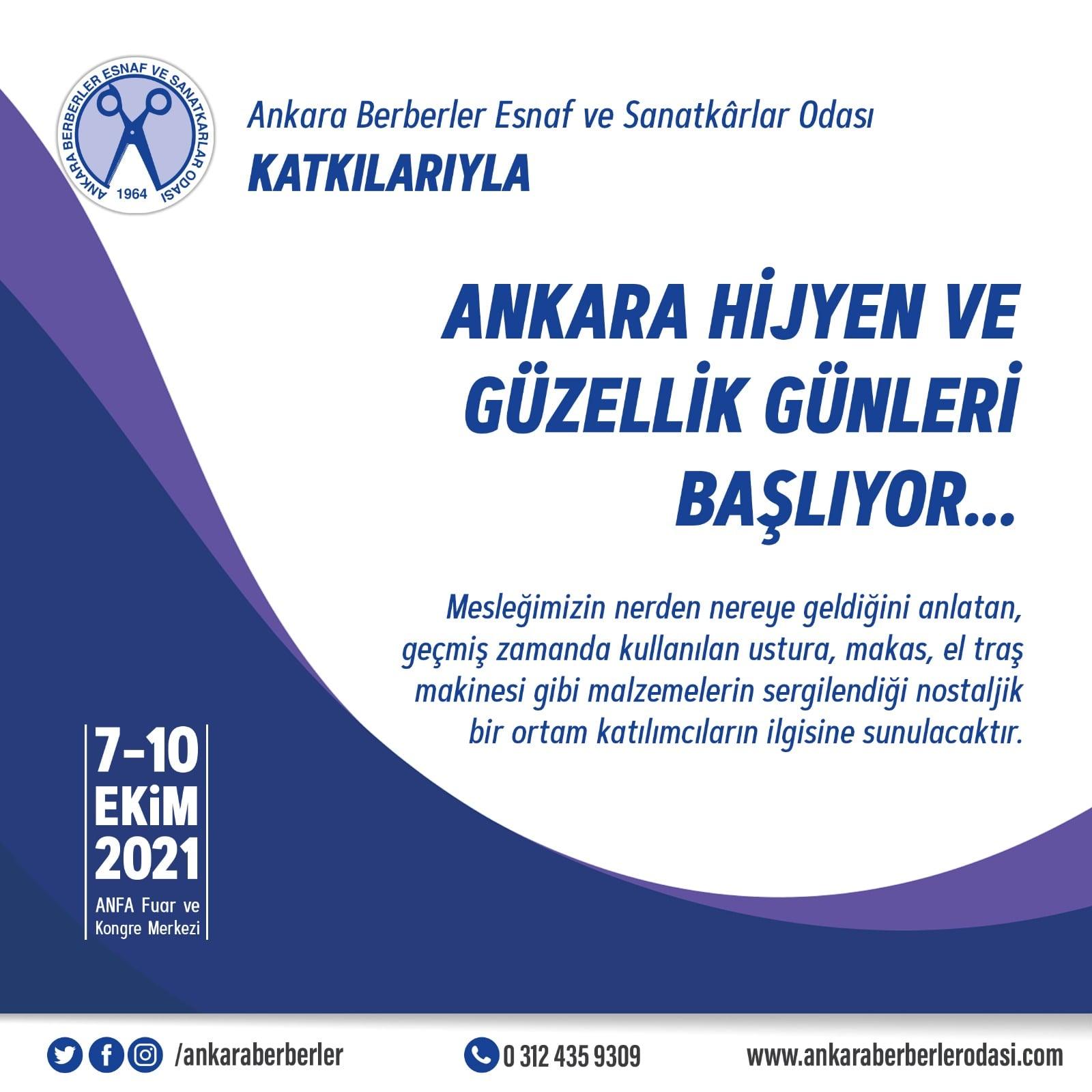 Kozmetik, Hijyen ve Güzellik Günleri Ankara Altınpark 'da