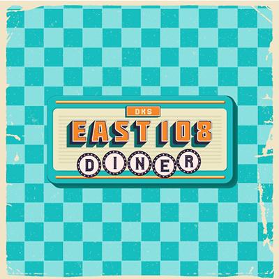 dks east 108 diner logo