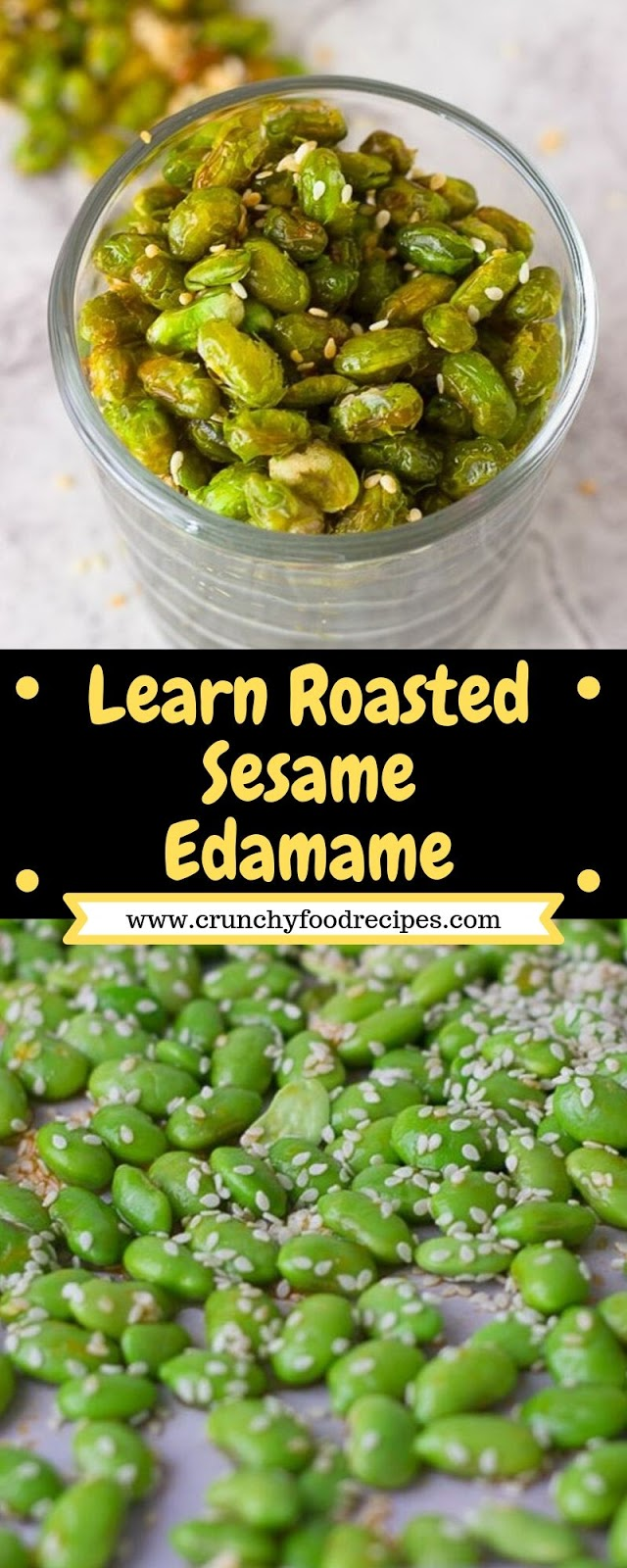 Learn Roasted Sesame Edamame