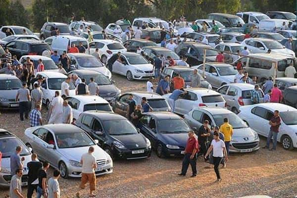سوق السيارات فى مصر