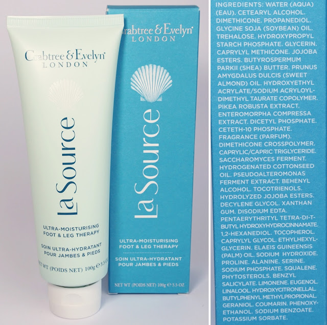 Crabtree & Evelyn La Source Ultra-Moisturising Foot & Leg Therapy Fußcreme