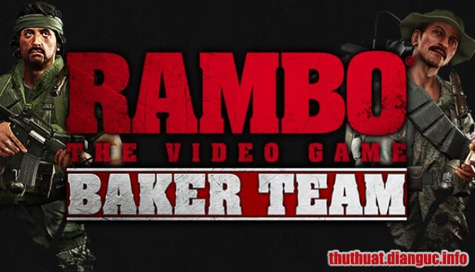 Download Game Rambo The Video Game: Baker Team Full Cr@ck