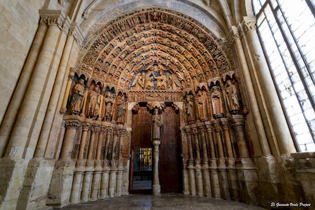 Portada de la Majestad de la Catedral de Santa María la Mayor - Toro, Zamora