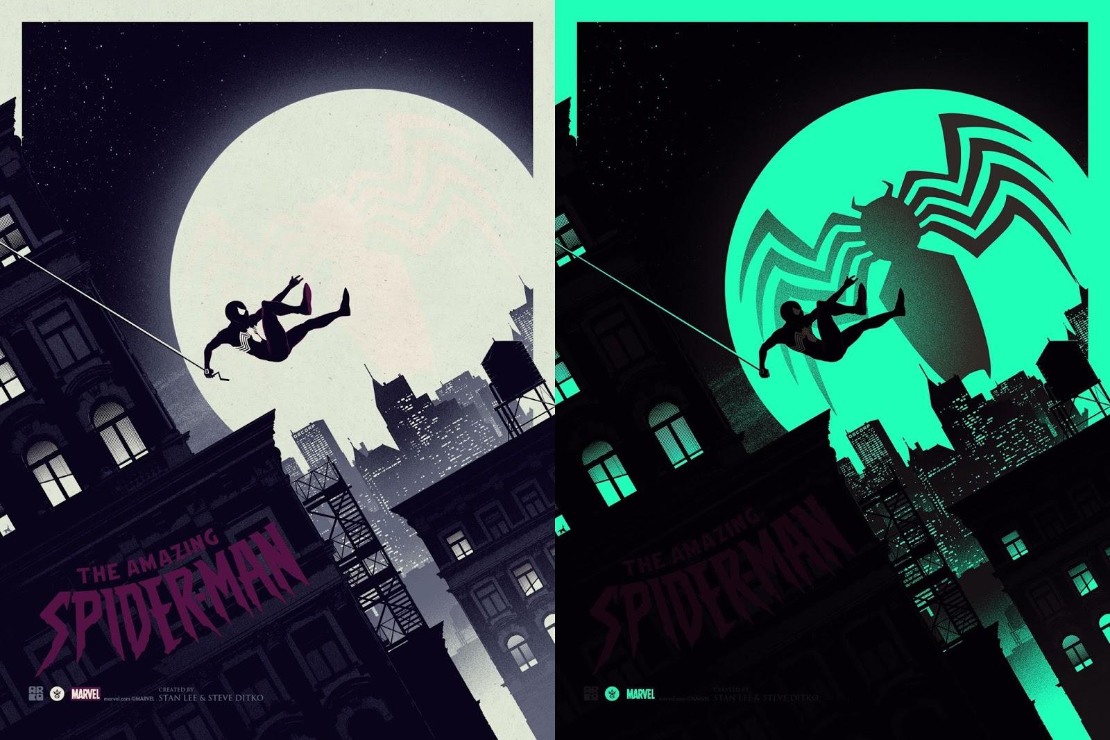 THE AVENGERS handbill poster BLACK WIDOW Variant art print Matt Ferguson