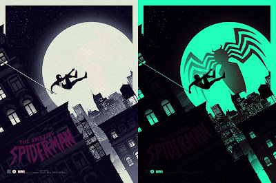 The Amazing Spider-Man Variant Marvel Screen Print by Matt Ferguson & Grey Matter Art