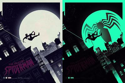 The Amazing Spider-Man Variant Marvel Screen Print by Matt Ferguson & Grey Matter Art