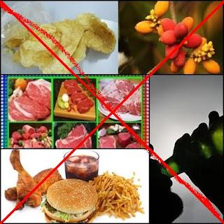 Makanan Pantangan Untuk Penderita Asam Urat