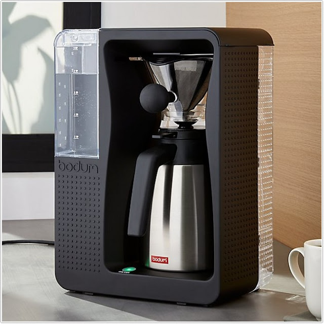 Automatic Pour Over Coffee Maker;Bodum Automatic Pour Over Coffee Maker;