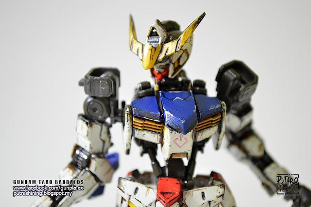 HG IBO 1/144 GUNDAM BARBATOS Custom Paint by Putra Shining