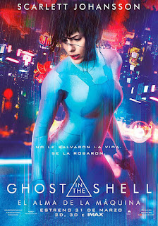 Cartel oficial español: Ghost in the Shell: El alma de la máquina (2017)