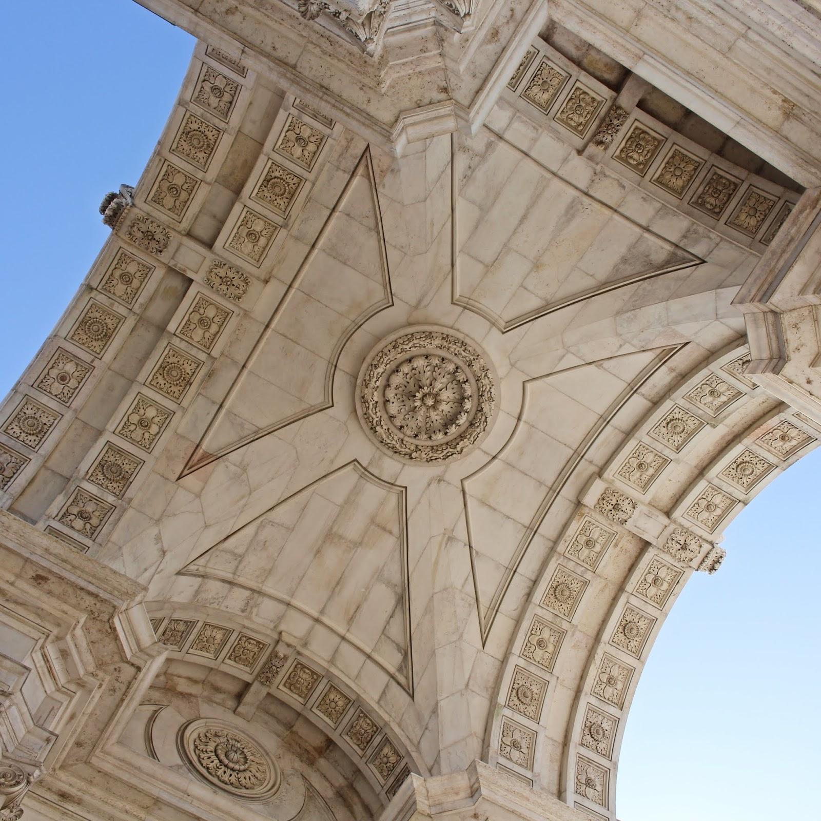 Arquitetura do Arco da Rua Augusta