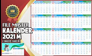 Free Download File Master Kalender 2021 M Format CDR ...