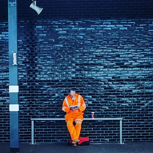 Reader on Wakefield Station